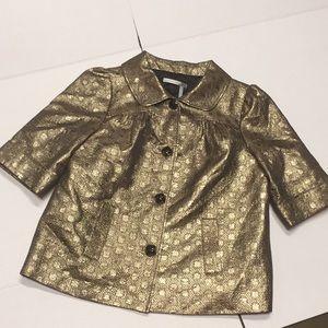Classiques Entier Golden Metallic Jacket M